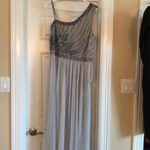 JS Collection Size 12 Silver Gown/Dress